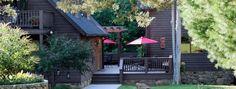 """Simply Charming"" Timberframe cabins bordering the Shenandoah National Park!"