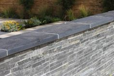 We've recently added exterior natural stone cladding to our paving range. Our natural stone cladding is available in mint sandstone, green slate & multi coloured slate. The cladding can be. Stone Cladding Exterior, Natural Stone Cladding, Exterior Tiles, Wall Exterior, House Paint Exterior, Slate Garden, Slate Patio, Patio Wall, Garden Walls