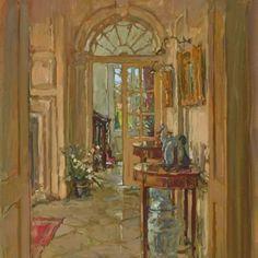 Susan Ryder, RP NEAC (English) 'The Hall, Plersac'