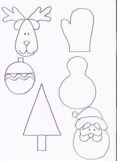patrones de motivos navideños