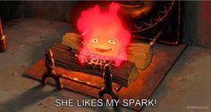 She likes me spark
