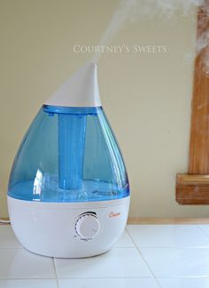 Bye Bye Allergies and Stuffy nose! Hello Crane Drop Humidifier :)