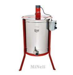 Μελιτοεξαγωγέας 4 Πλαισίων Ηλεκτρικός απλός  [INOX AISI 304 - 18/10], πάχους 6mm
