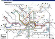 Frankfurt am Main metro (Schnellbahnplan)