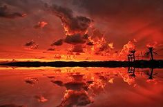 Awesome sunset ...