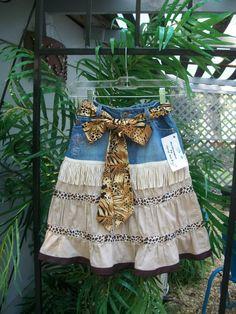 Redesigned Recycled Girly Girl Denim by ReDesignsbyCherylAnn, $24.00