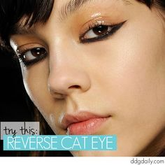Try this: Reverse cat eye  | how tos featured hp main feature eye makeup and trends beauty 2  picture