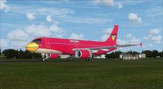 aircraft promotion livery | Spicytec: Angry Birds Inspired Airplane - Images & Video