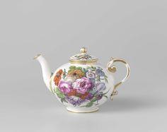 Tea service for two people (tête-à-tête), Manufactuur Oud-Loosdrecht, c. 1778…