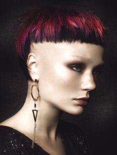 Buoy Salon & Spa - Punk Rebel Luxe #buoy #punk #michaelbeel #chinneyyeap #colorhair #haircolor #hairdye #haircut #цветныеволосы #окрашивание #стрижки #короткиеволосы Colourist: Chinney Yeap Hair Cut and Style: Michael Beel Photographer: Guy Coombes Stylist: Sopheak Seng Make-Up Artist: Hil Cook