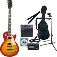 PhotoGenic フォトジェニック エレキギター初心者入門 10点セット LP260/CS チェリーサンバースト フォトジェニック http://www.amazon.co.jp/dp/B00CSHOSBU/ref=cm_sw_r_pi_dp_96b-ub1KKG812