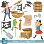 Pirates Clipart for Birthday invitations, crafts, scrapbooking and more. Clipart, Pirate Clip Art, Web Design, Printable Planner Stickers, Pirate Theme, Scrapbooking, Paper Crafts, Crafty, Cool Ideas