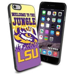 "NCAA-LSU Tigers , iPhone 6 4.7"" Case Cover Protector for iPhone 6 TPU Black Rubber Case SHUMMA http://www.amazon.com/dp/B00Y5IEMJI/ref=cm_sw_r_pi_dp_jvRpwb1Z7B63A"