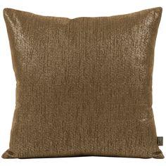 "Howard Elliott Glam Chocolate 20"" x 20"" Pillow 2-293"