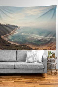 Catherine McDonald California Coast Tapestry | DENY Designs Home Accessories