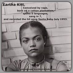 Black history is American history. Check out the Eartha Kitt documentary from 1982 titled All by Myself Black History Facts, Random History Facts, Black History People, Black History Quotes, Black History Month, My Black Is Beautiful, Beautiful Soul, African American History, Black Power