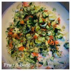 Frau S-Berg: Gemüsesauce