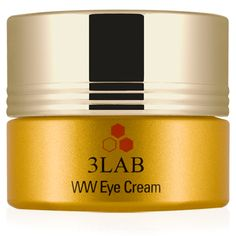 WW Eye Cream  A moisture-intense treatment for wrinkle-smoothing, brightening, and under eye dark circles. It contains 3LAB's patented age reversal ingredient, Nano-Claire GY™ that helps skin look and feel younger, and more youthful.