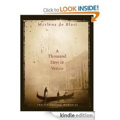 """29. December - $1.99 - On a visit to Venice, de Blasi meets a local bank manager who falls in love with her at first sight. After """"the stranger"""" (as she coyly calls him throughout the book) pursues her back to her home in St. Louis, Mo., she agrees to return to Italy and marry him, leaving behind her grown children and her job as chef and partner in a cafe. Although the banker, Fernando, lives in a bunkerlike postwar condominium on the Lido rather than the Venetian palazzo of her dreams."""
