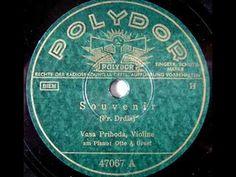 Vasa Prihoda - Drdla's Souvenir (1930s)