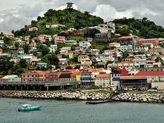 Main island of Grenada and six smaller, outlying islets, is home to both one of the region's most picturesque capital cities St. George's Cheap Caribbean Islands, Antigua Caribbean, Tall Ship Cruises, Beach Honeymoon Destinations, Caribbean Culture, Island Beach, Countries Of The World, Grenada, Tourism