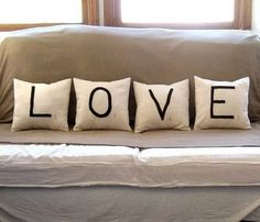 Things We Heart: Decor to Die For: ABC easy as 123...We heart Typography in the home