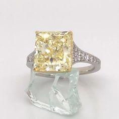Pink Ring, Designer Engagement Rings, Radiant Cut, Yellow Diamonds, Pink Sapphire, Lab, Stylish Jewelry, Fine Jewelry, Rings
