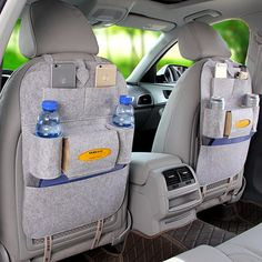 Blanket Car Seat Storage Bag 13 Colors Multi-functional Bag