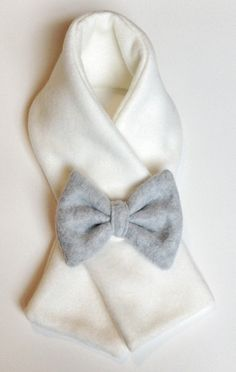 Fleece Bow Muffie by OhSoNummy on Etsy, $14.00