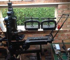 Harrild & Sons table top Albion press @ bracken press print-workshop