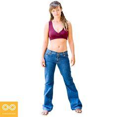 Adelaide Women's 100% Organic Cotton Jeans