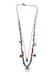 Multicolored Bead Necklace