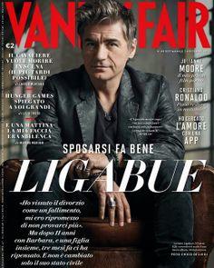 Luciano Ligabue para Vanity Fair Italia Noviembre 2013 | Male Fashion Trends