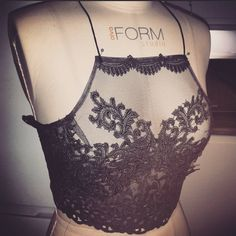 Working on this bespoke lace crop for a lovely customer. Each piece is handmade & unique - made to measure. Worn as lingerie & outerwear- looks amazing styled with a midi skirt. Get in touch for any orders sian_whitefoot@hotmail.com