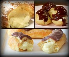 YES, please.  Pate a Choux - Cream Puffs, Eclairs, Profiteroles - DominickCosta.com