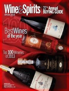 2013 Wine & Spirits Buying Guide - Best 100 Wines of The Year - Famille Perrin Chateau de Beaucastel, Champagne Delamotte