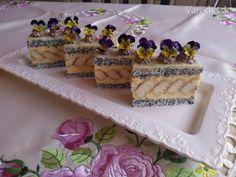 Lizbeth rezy (fotorecept) - Recept Cake Recipes, Dessert Recipes, Desserts, Cake Bars, Hungarian Recipes, Bread Baking, Waffles, Recipies, Food And Drink