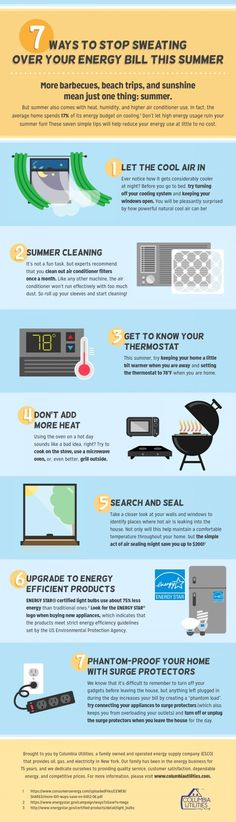 7 ways to cut down your summer energy bill