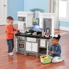 Kitchen Playset For Toddlers Kids Cooking Station Toy Pretend Play Accessory Set #KitchenPlayset