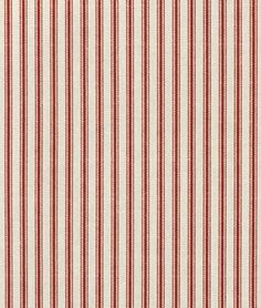 3 Red Ticking Pillows Red Striped Pillows Porch Decor Pillow Shams Christmas Pillows more Colors Ticking Fabric, Ticking Stripe, Drapery Fabric, Fabric Decor, Cushion Fabric, Fabric Design, Waverly Bedding, Waverly Fabric, French Pillows