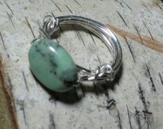 Turquoise Wire Wrapped Ring  Gift Box by SusanHeleneDesigns, $20.00