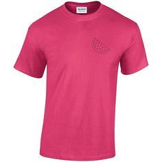 Watermelon T-Shirt Pocket Logo TShirt Women's T-Shirt