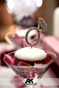This would be awesome for my girls to do for me!!!! cupcaketini - engagement party