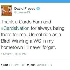 Will miss Freese