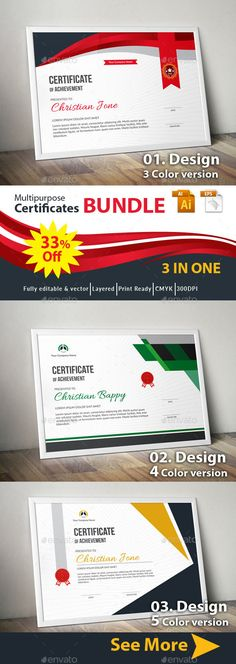 Certificate Design, Certificate Templates, Certificate Background, Free Certificates, Certificate Of Achievement, Information Graphics, Infographic Templates, Grafik Design, Stationery Design