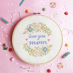 Cross stitch pattern Gift for mother from daughter mother