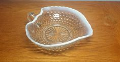 Hey, I found this really awesome Etsy listing at https://www.etsy.com/listing/247409394/anchor-hocking-moonstone-hobnail-bowl