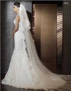 wedding veils | Long Wedding Veil 8 in Elegant Long Wedding Veil on ...