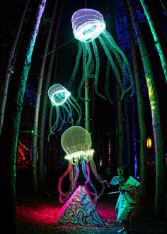 Electric forest festival Cool idea for some future theme camp
