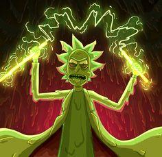 Rick and Morty x Toxic Rick